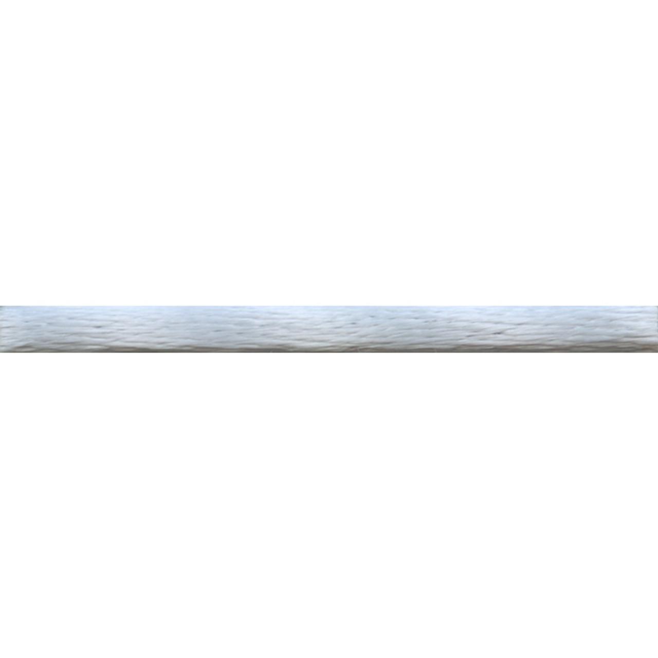 Silver Rattail Satin Cord.