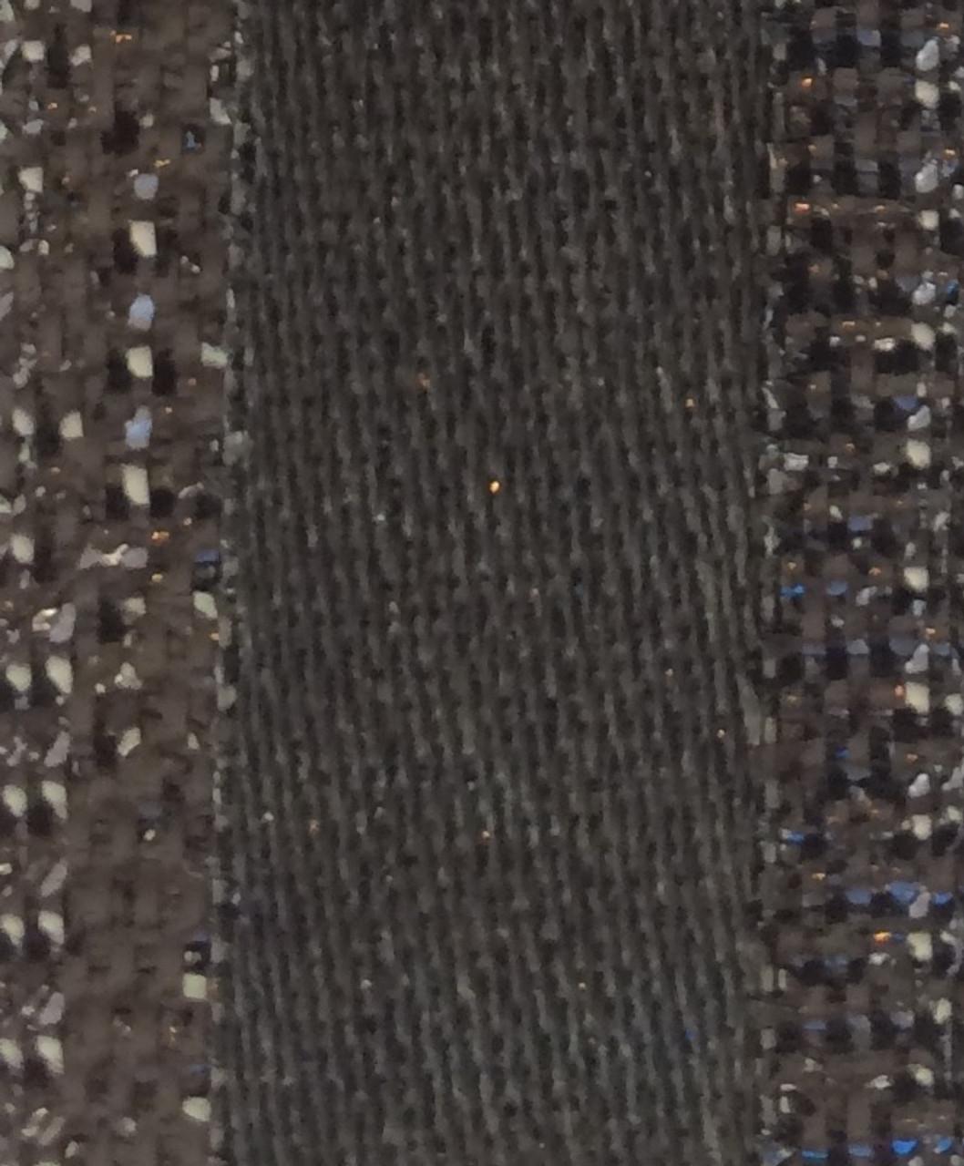 Black Metallic Ribbon - Stacie