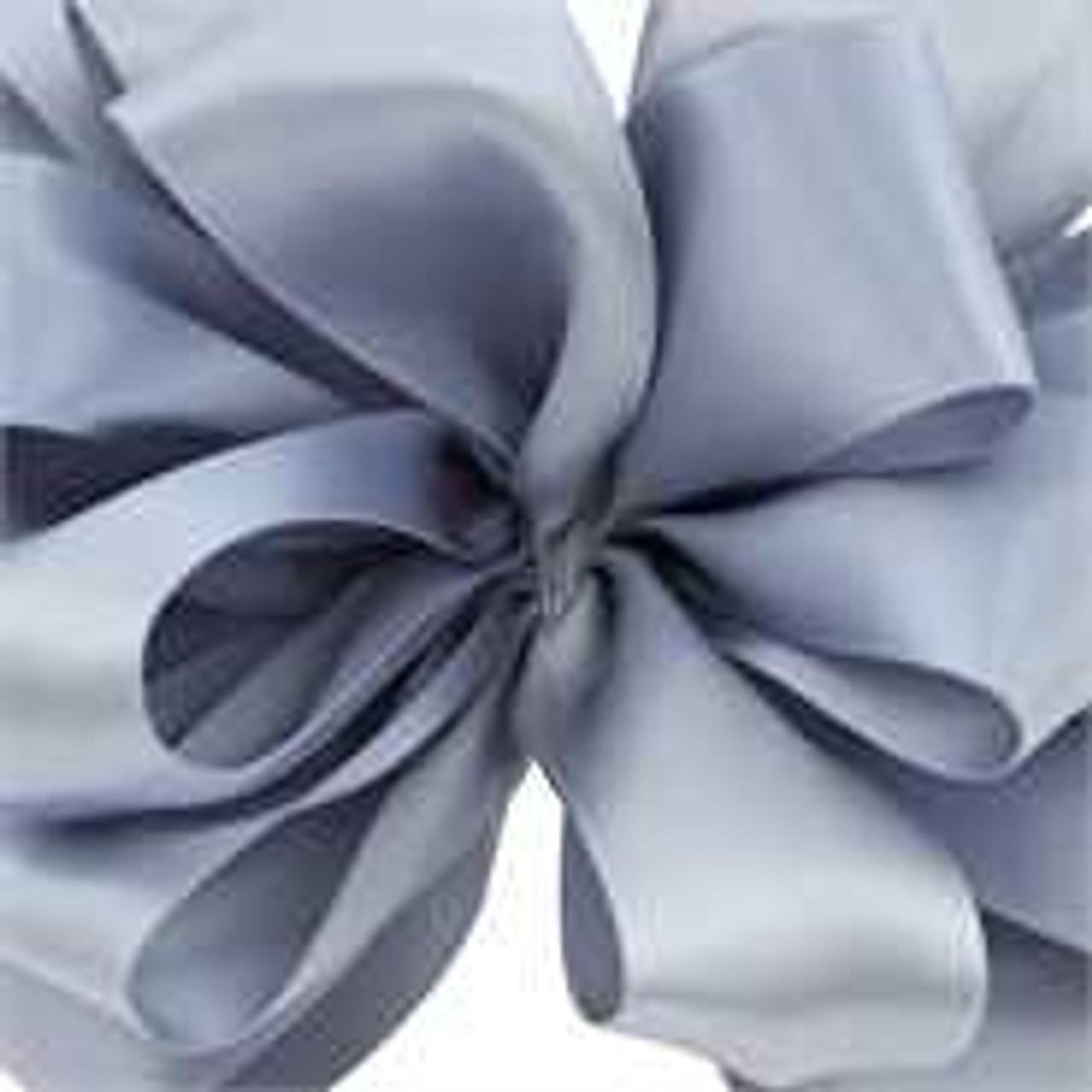 Dusty Blue Double Faced Satin Wholesale Ribbon