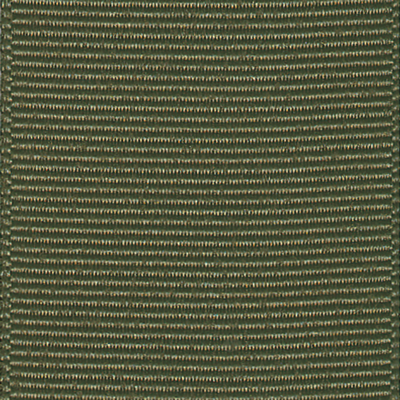 Olive Drab Solid Grosgrain Ribbon
