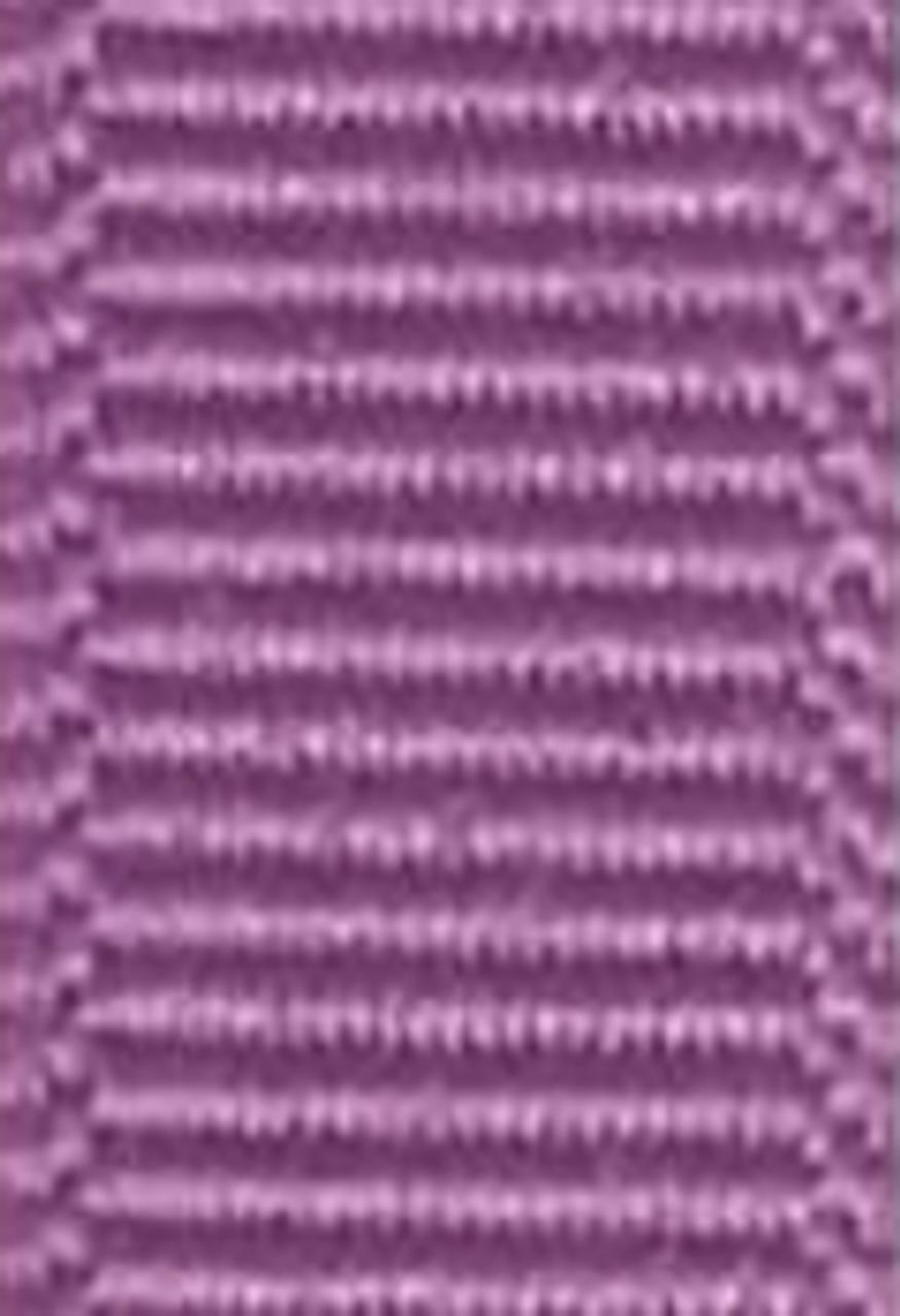 Amethyst Solid Grosgrain Ribbon