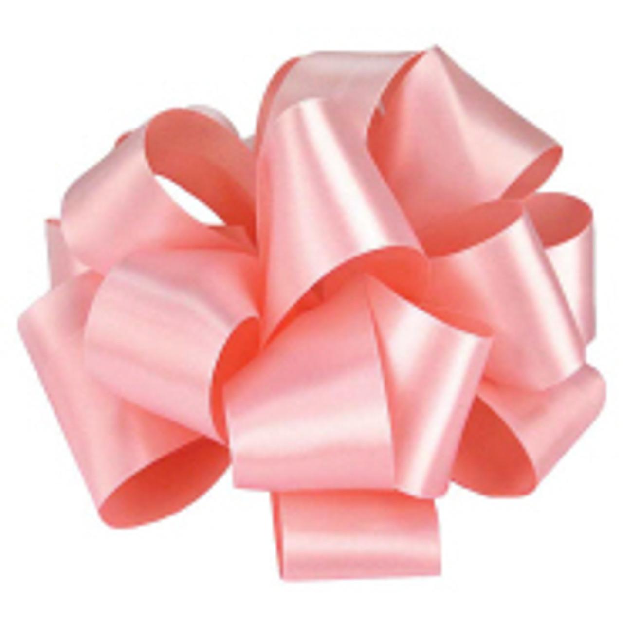 Light Pink Blush Double Faced Satin Ribbon