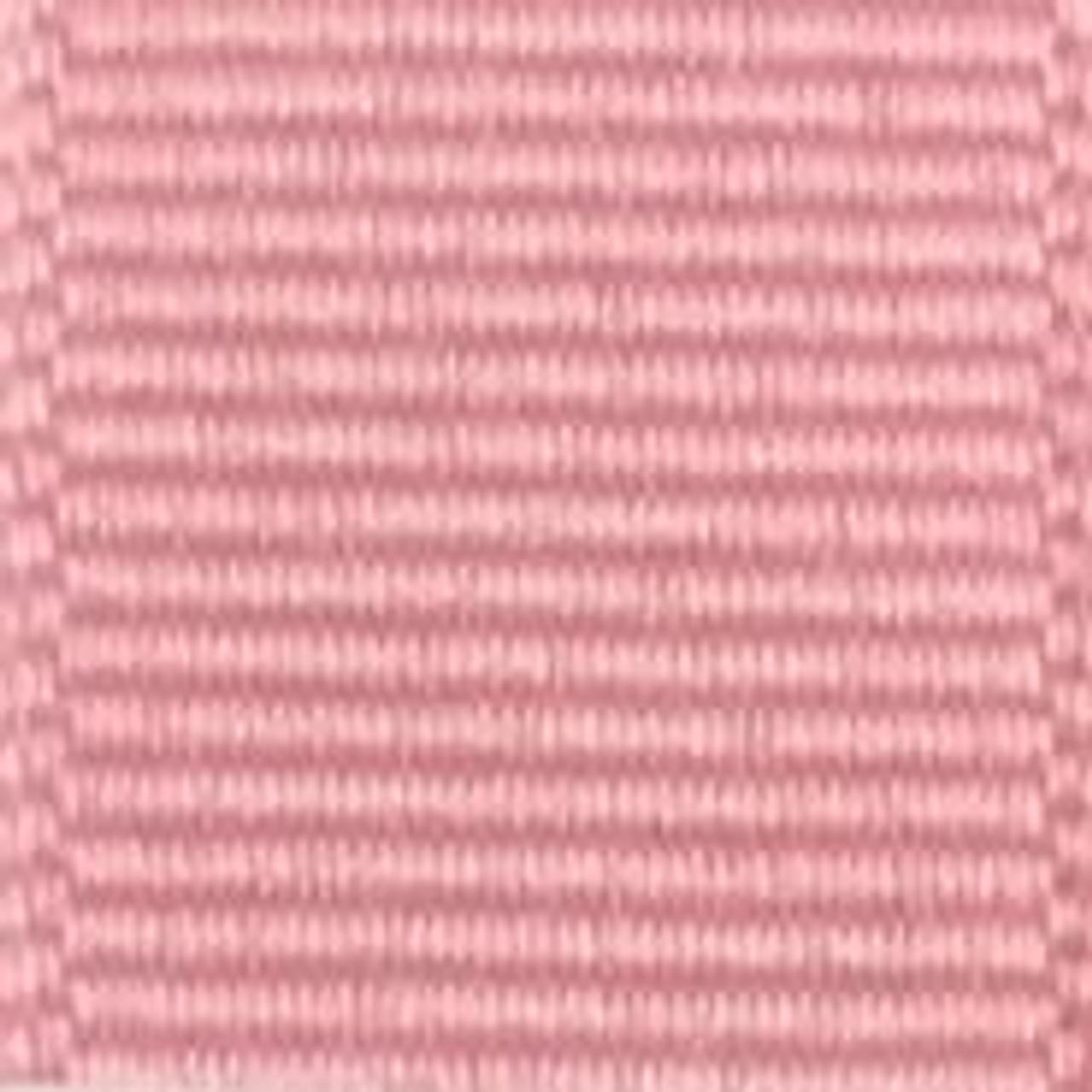 Pink Solid Grosgrain Ribbon
