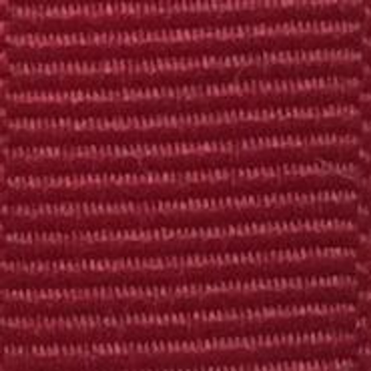 Cranberry Solid Grosgrain Ribbon