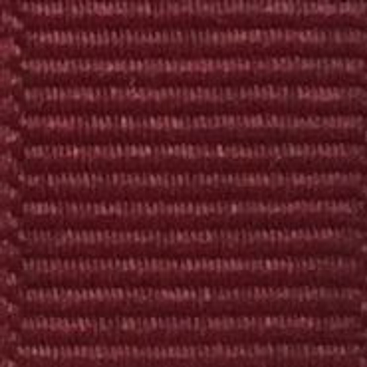 Cranberry Solid Grosgrain Ribbon