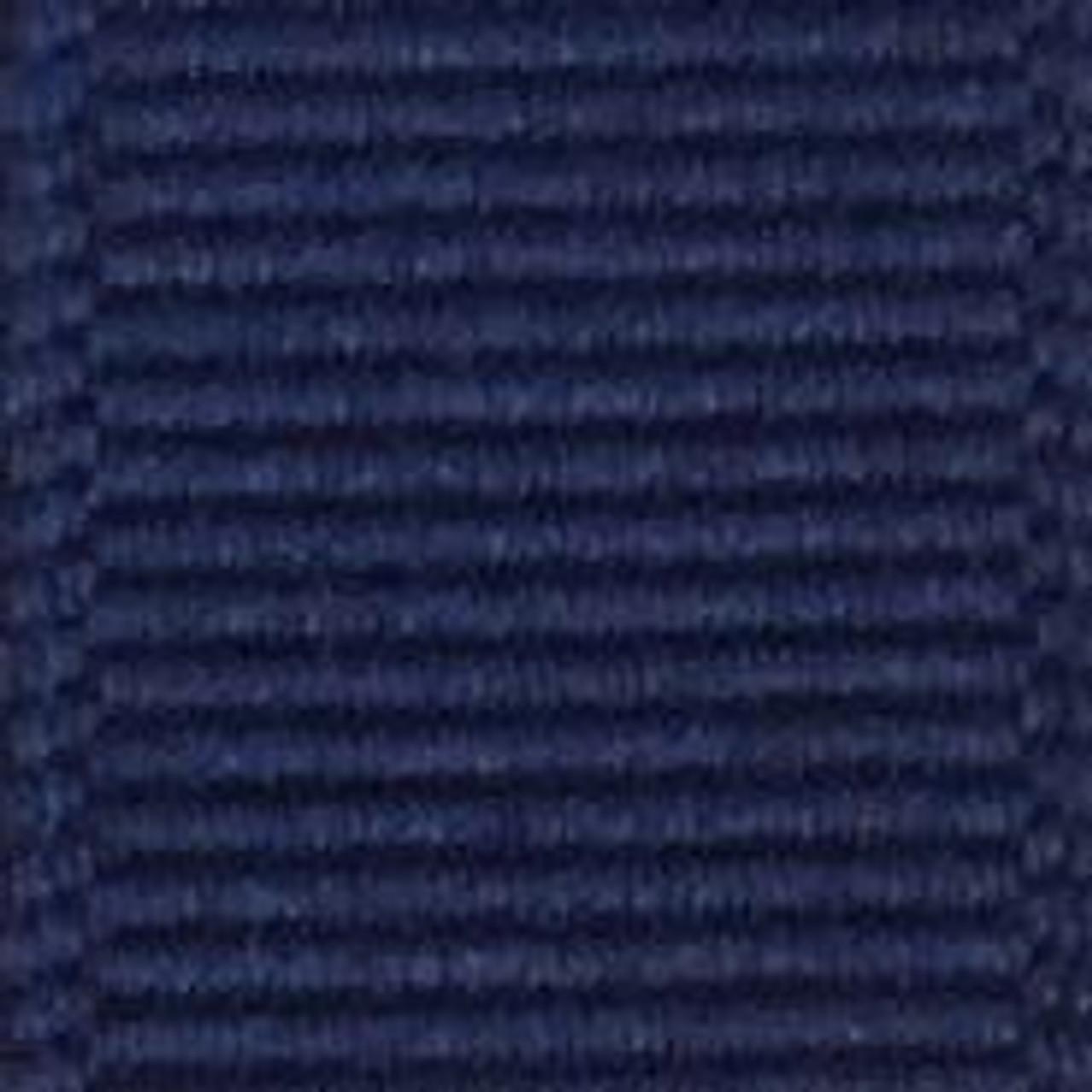 Light Navy Solid Grosgrain Ribbon
