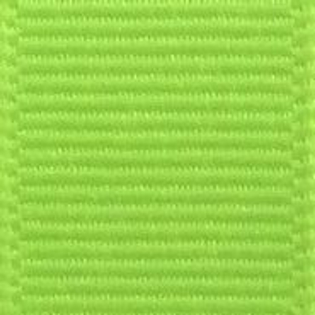 Neon Lime Solid Grosgrain Ribbon
