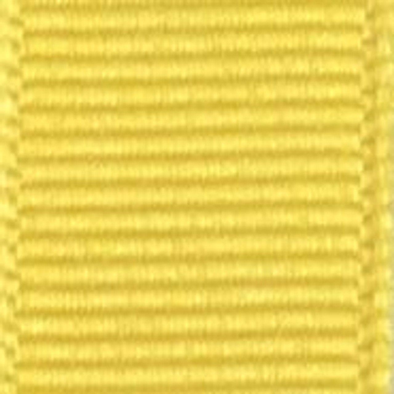 Maize Solid Grosgrain Ribbon