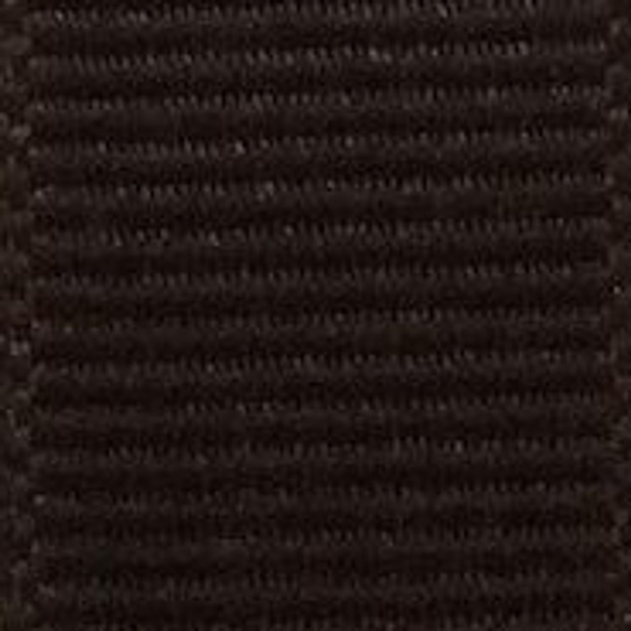 Brown Solid Grosgrain Ribbon