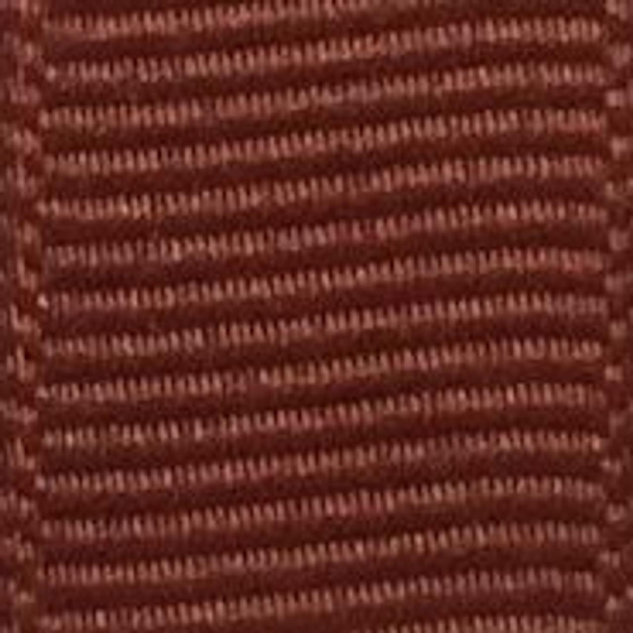 New Rust Solid Grosgrain Ribbon