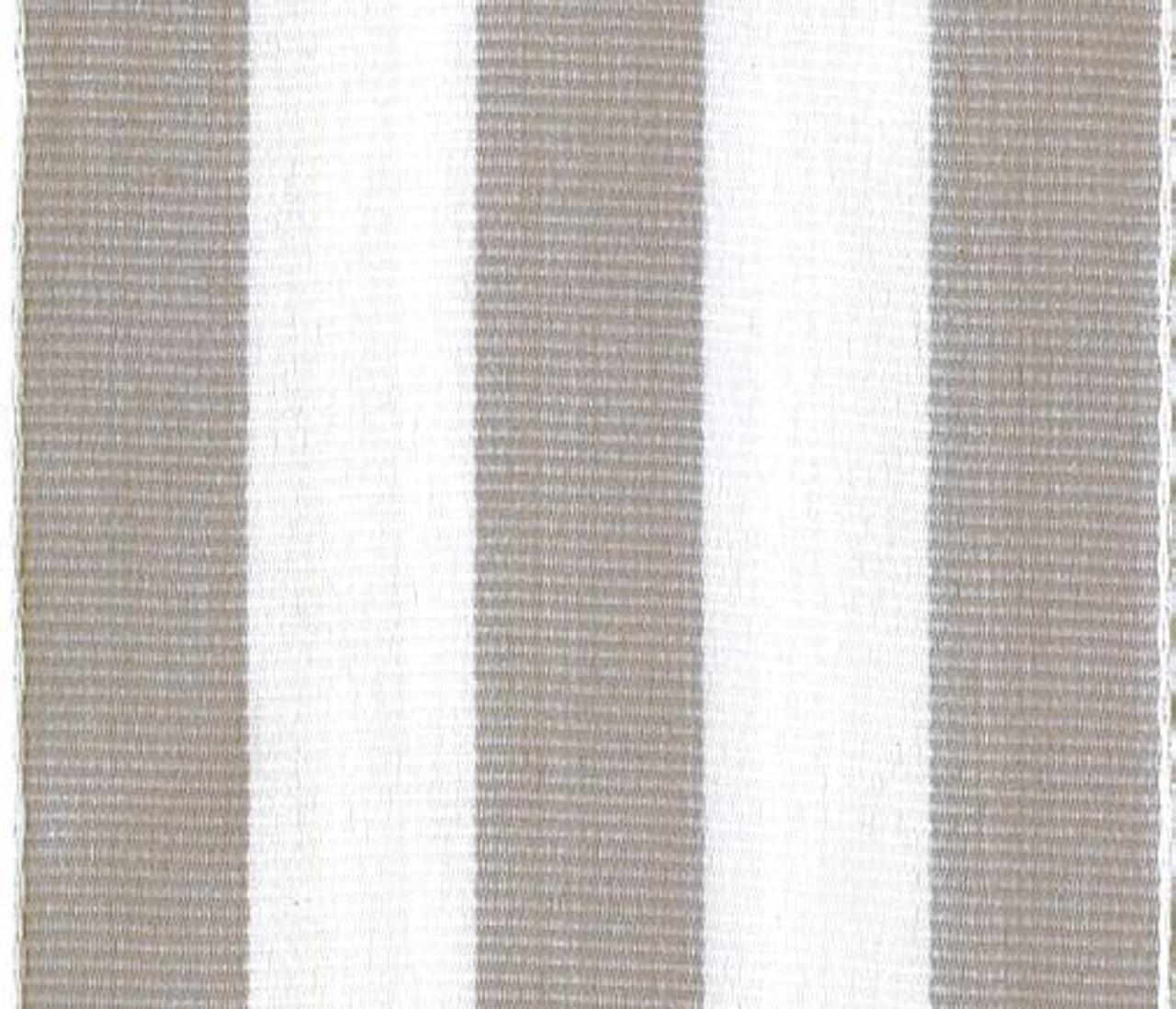 Wholesale Grey Carnival Striped Grosgrain Ribbon.