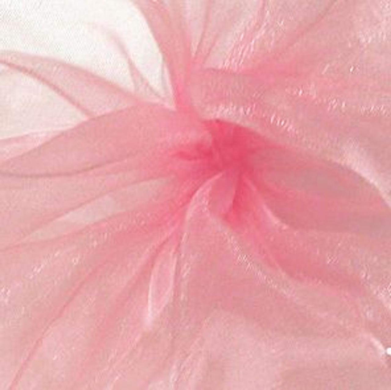 Lt Pink Sheer Fabric