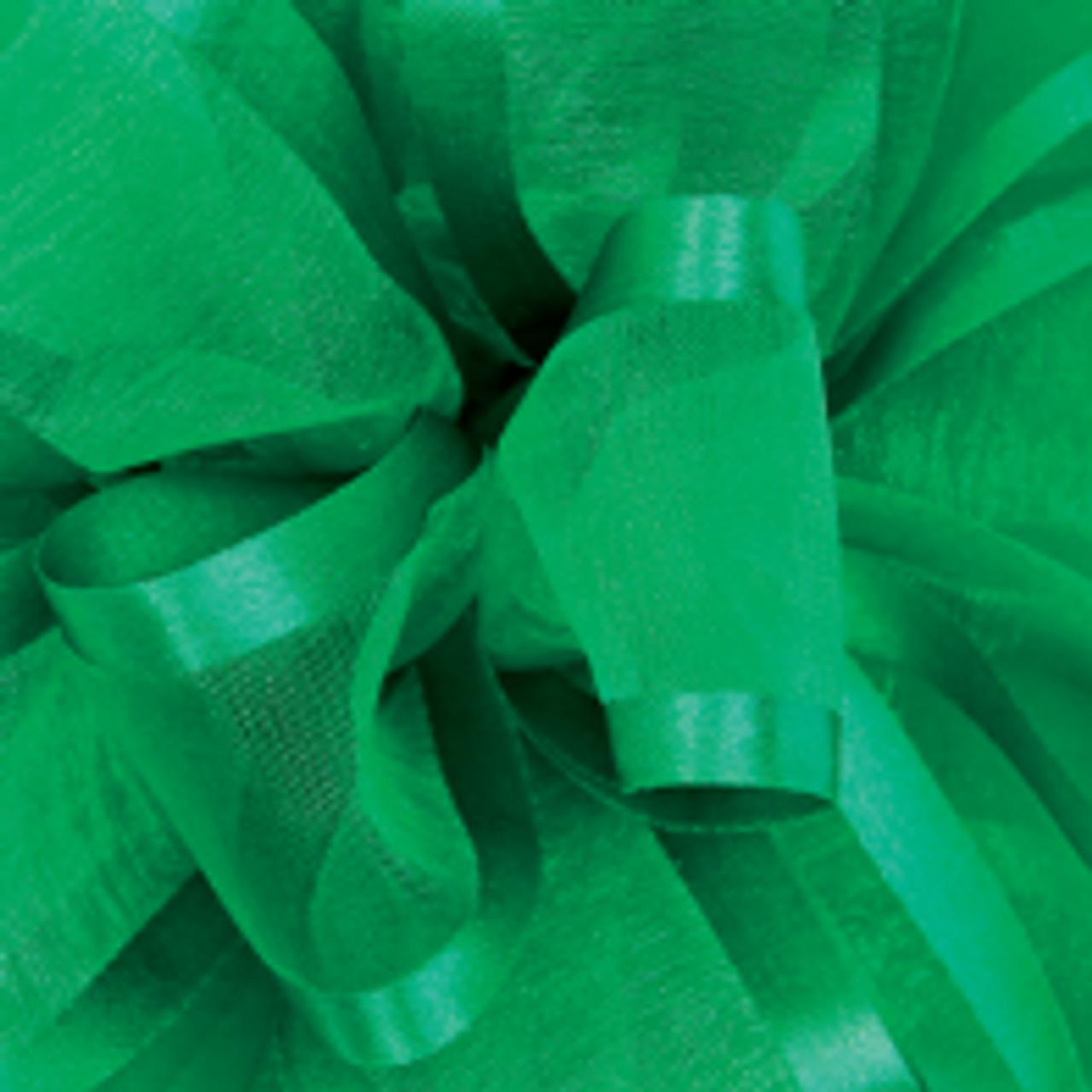 Emerald Pirouette Sheer andSatin Ribbon