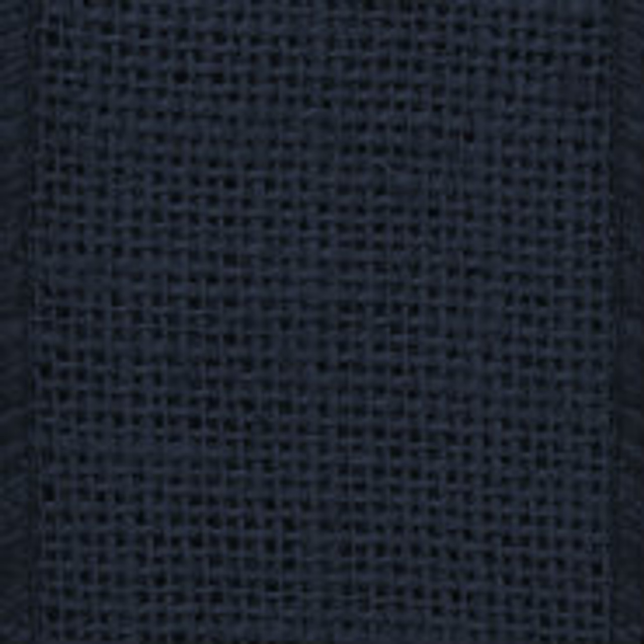 Navy Solid Wire Burlap Ribbon