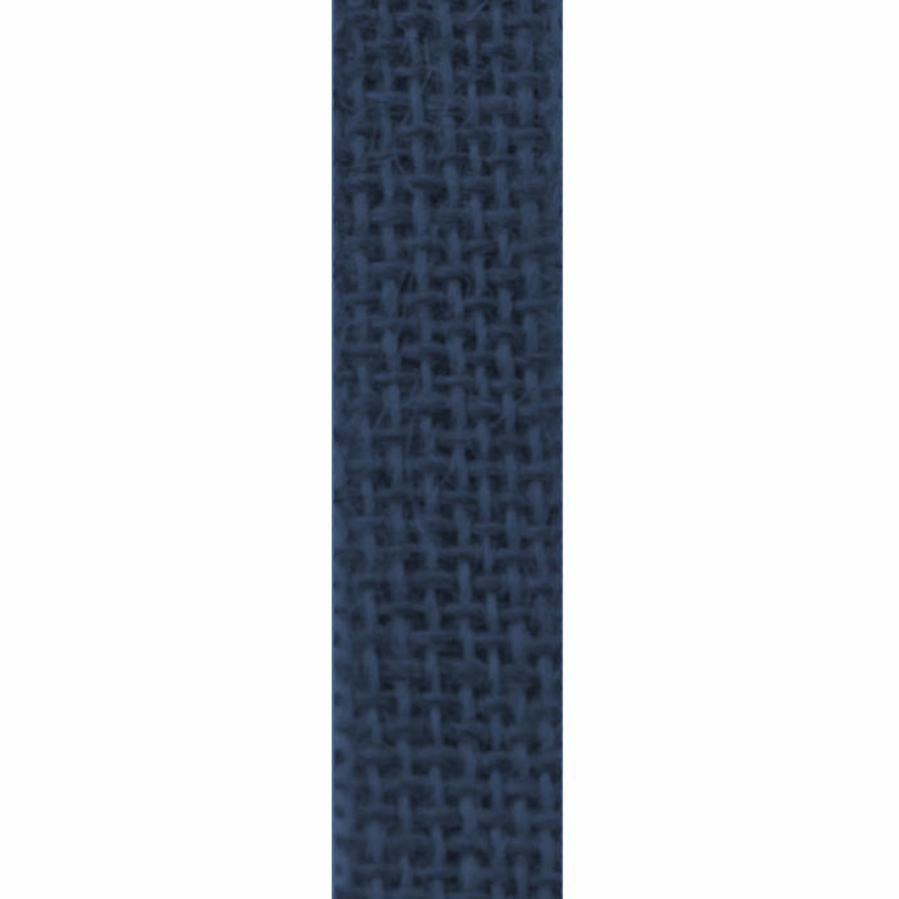 Navy - Burlette Narrow Burlap Ribbon