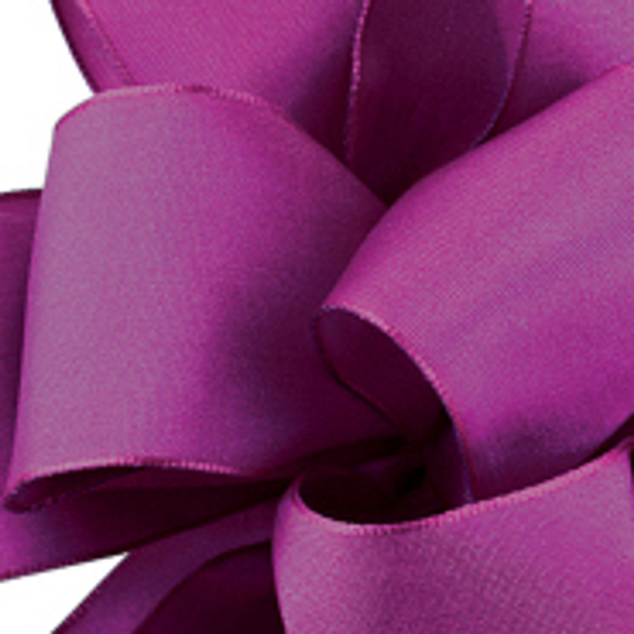 Amethyst Wired Woven Ribbon