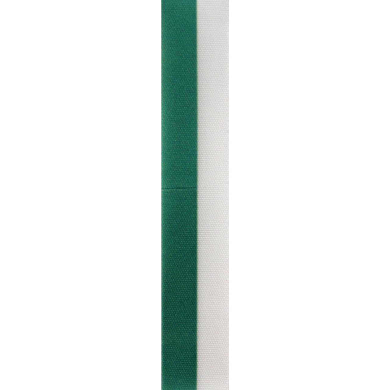 Emerald Vertical Striped Ribbon
