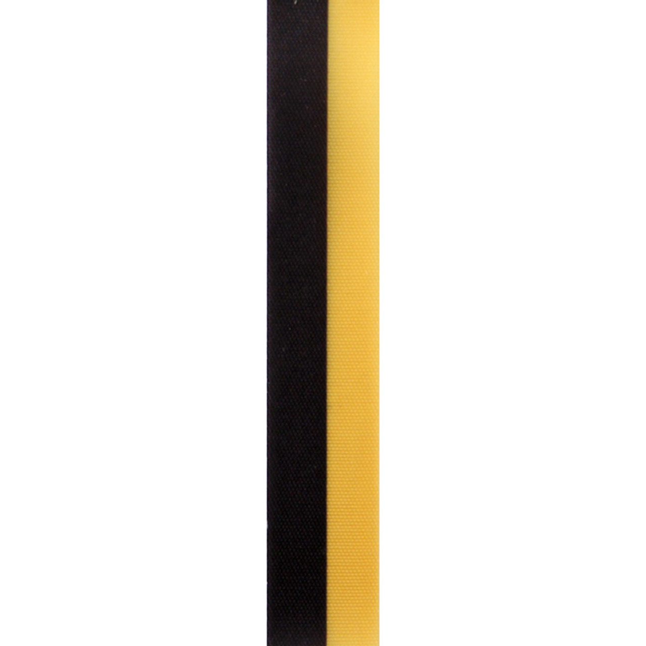 Gold and Black Vertical Striped Ribbon