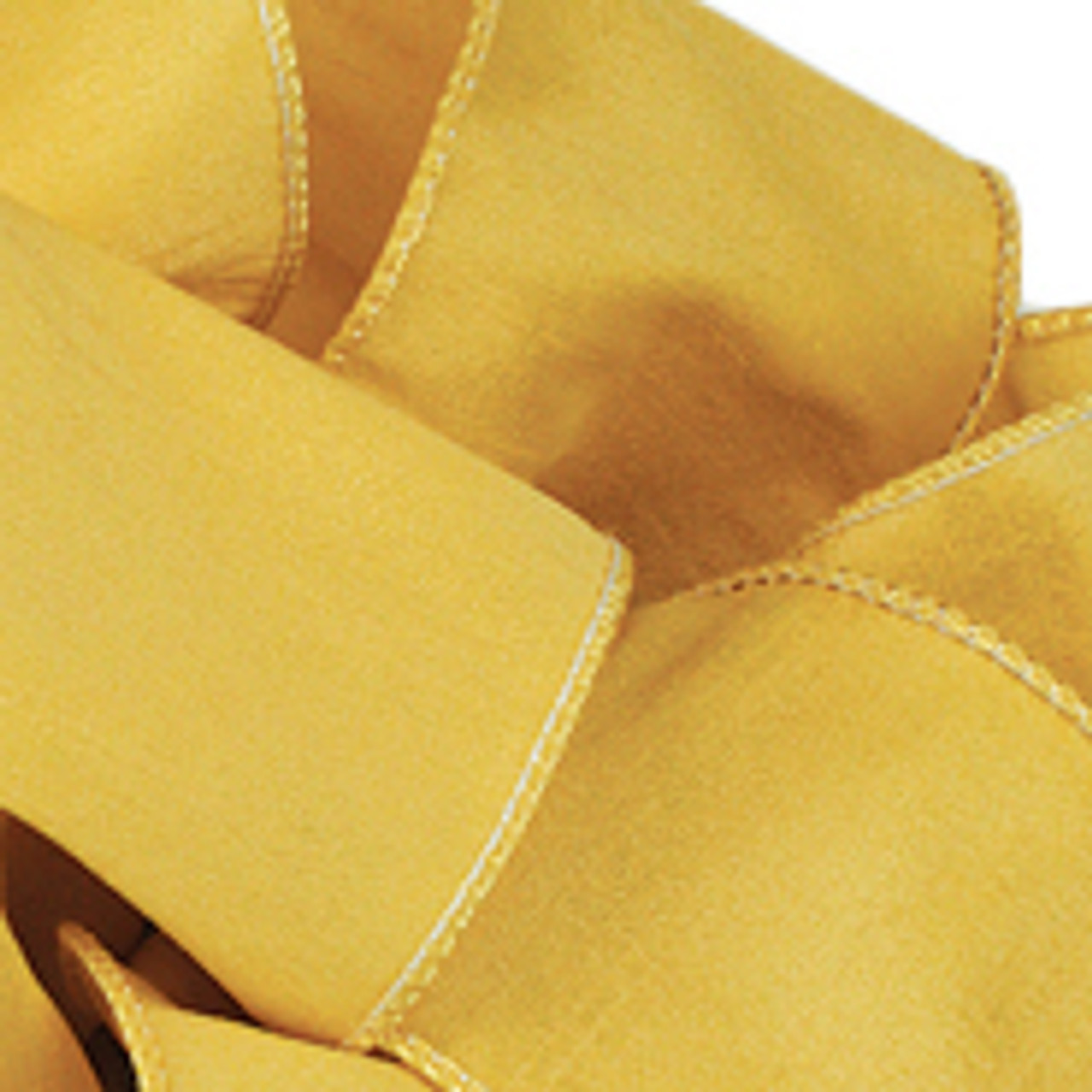 Soft Gold Anisha Wired Edge Ribbon