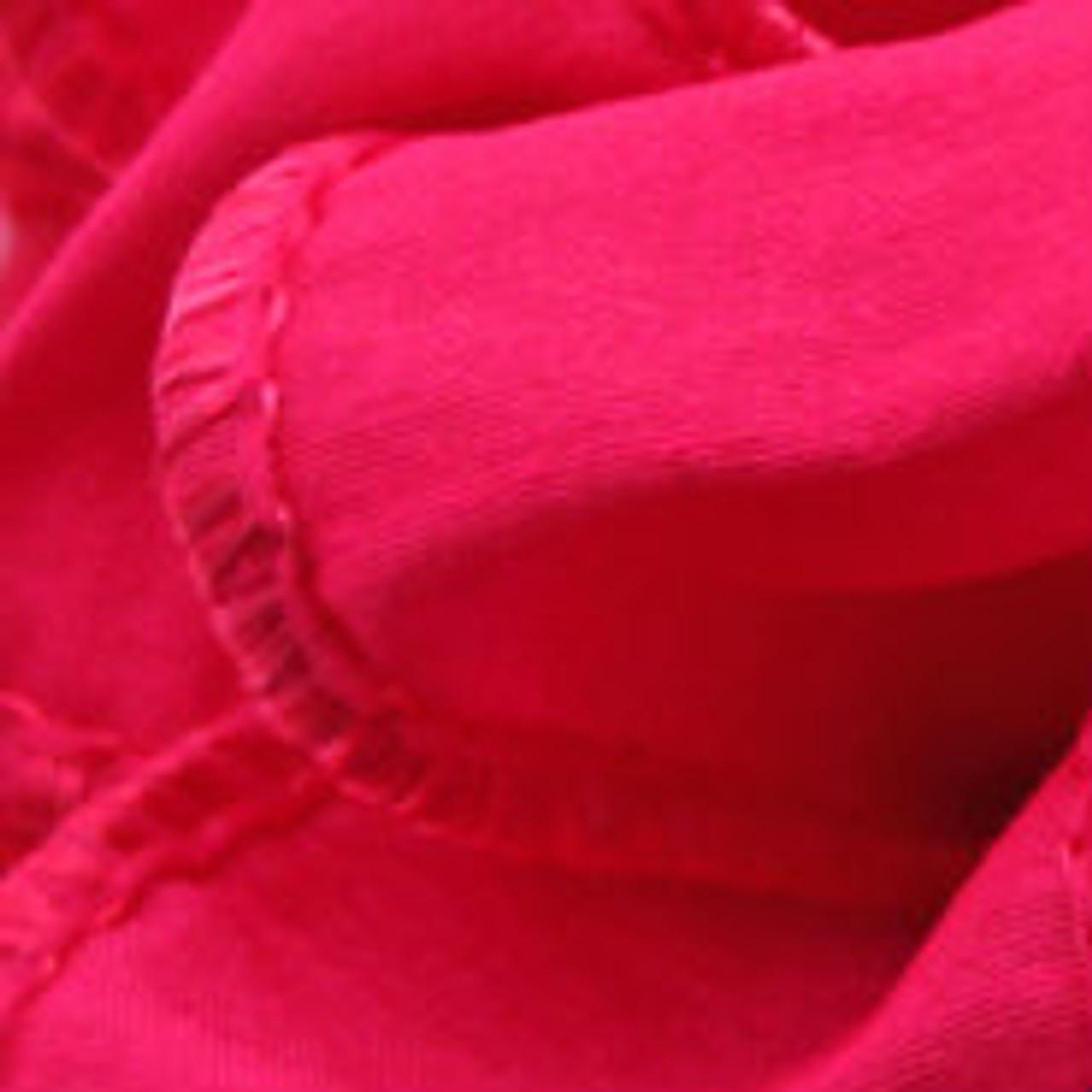 Shocking Pink Anisha Wired Edge Ribbon