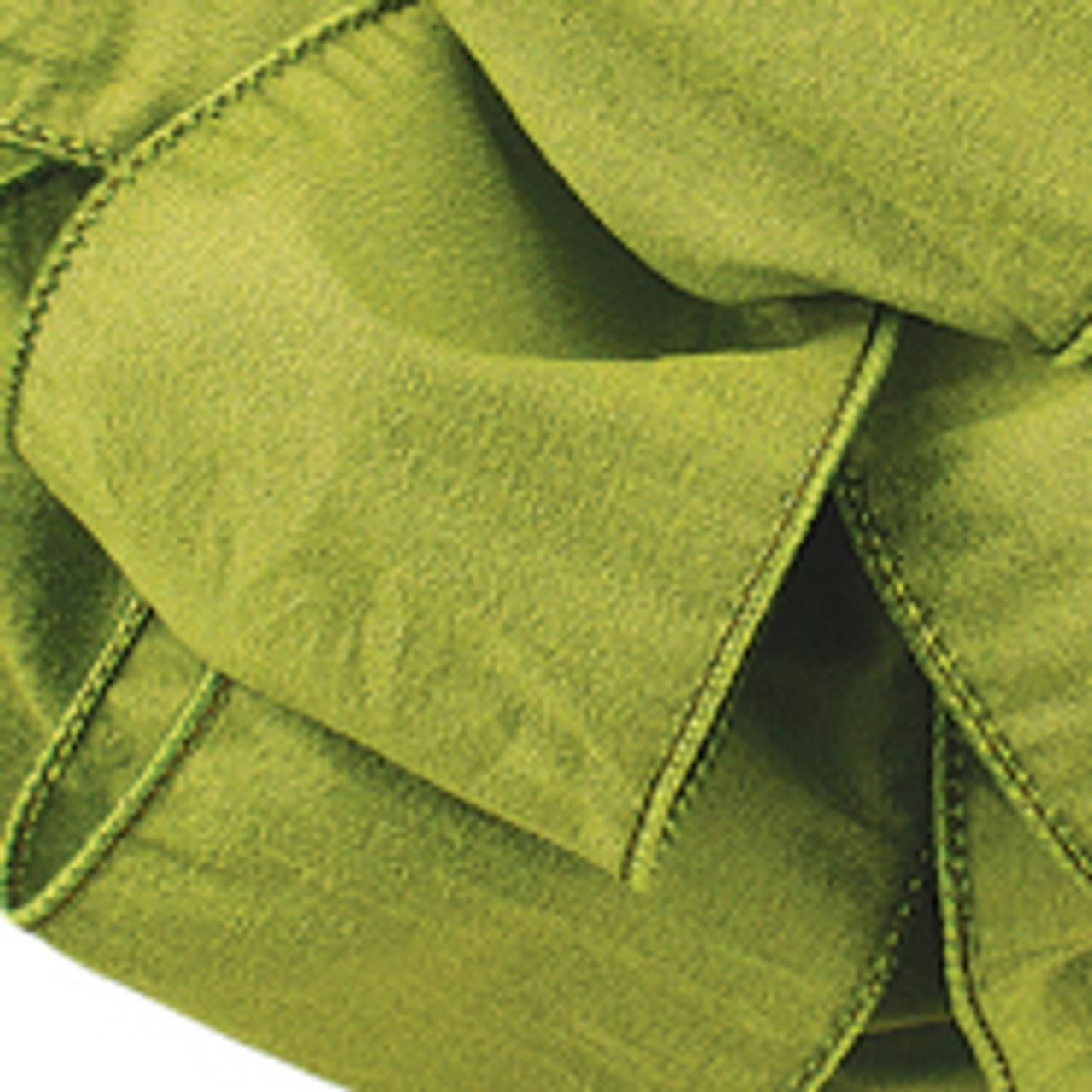 Lemon Grass Anisha Wired Edge Ribbon