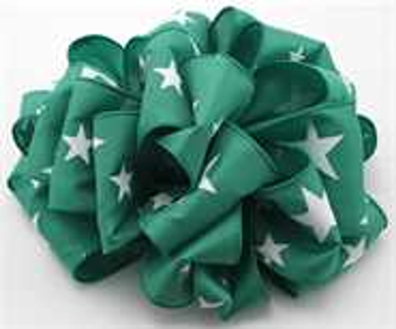 Emerald Star Wired Ribbon