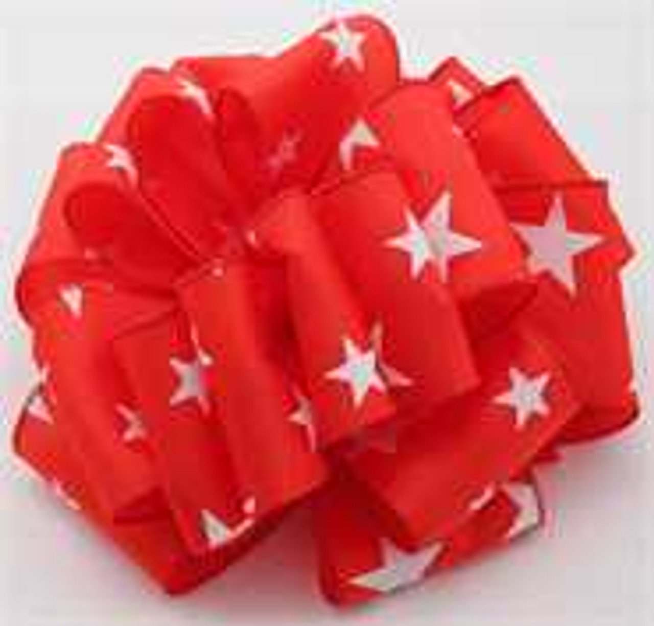 Red Star Wired Ribbon