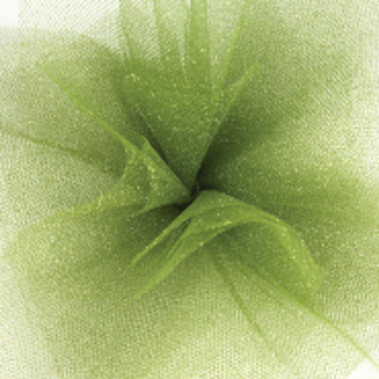Sparkle Tulle Fabric - Moss Green
