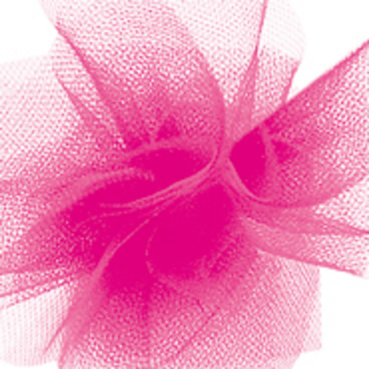 Solid Tulle Fabric - Hot Pink