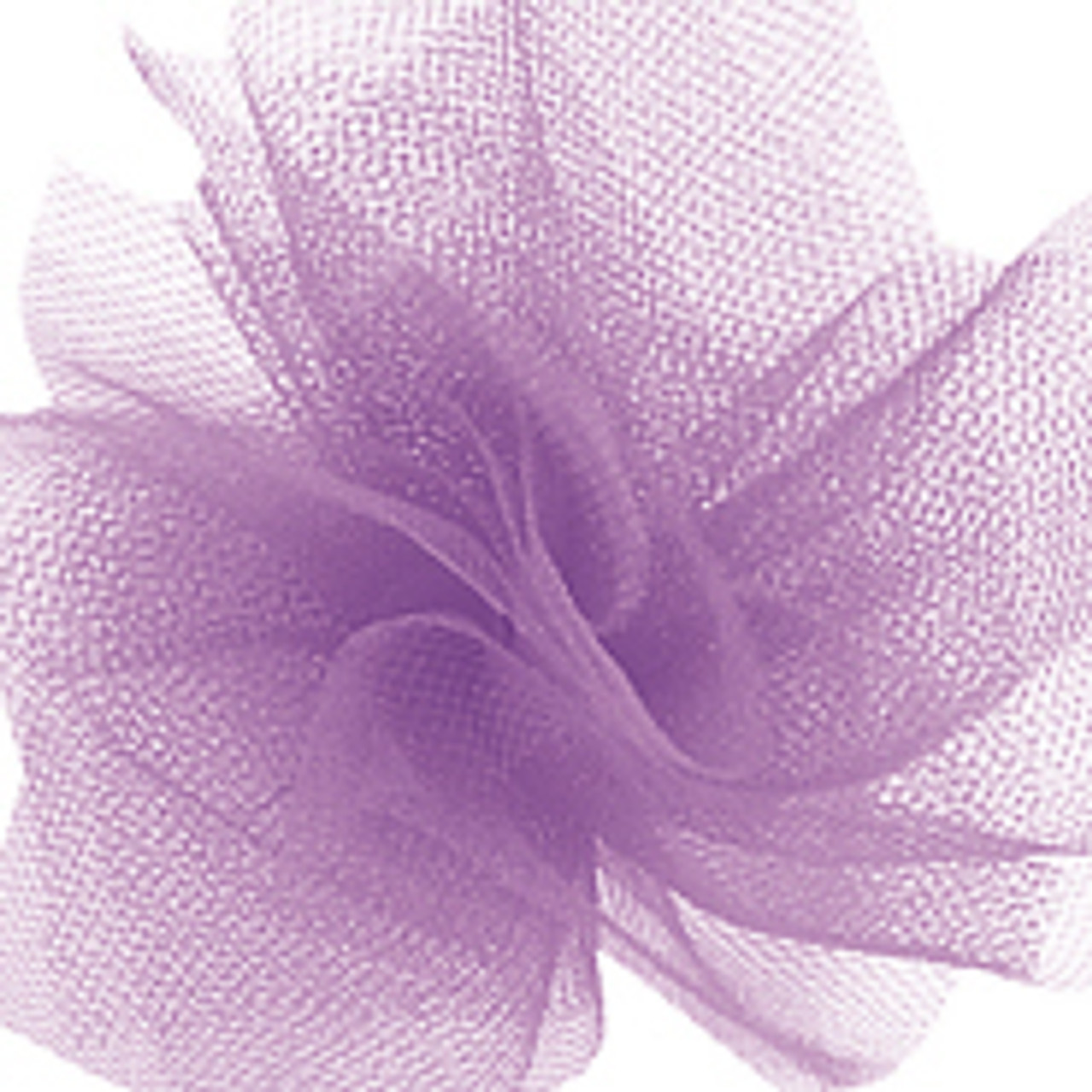 Solid Tulle Fabric - Lavender
