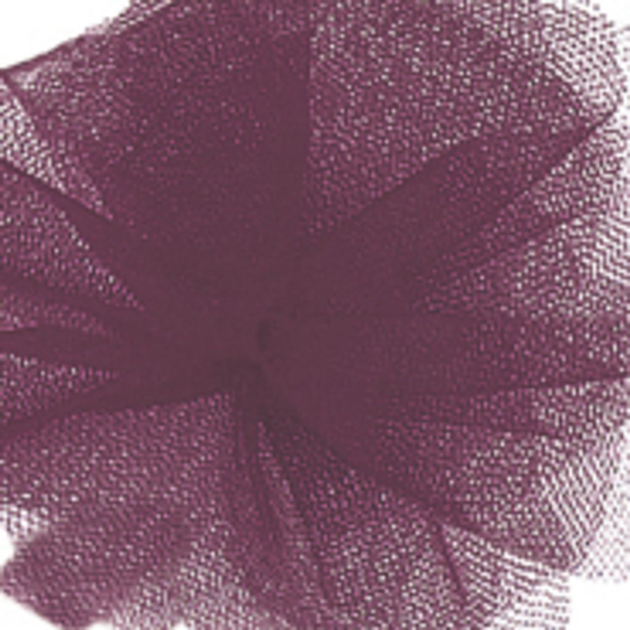 Solid Tulle Fabric - Aubergine