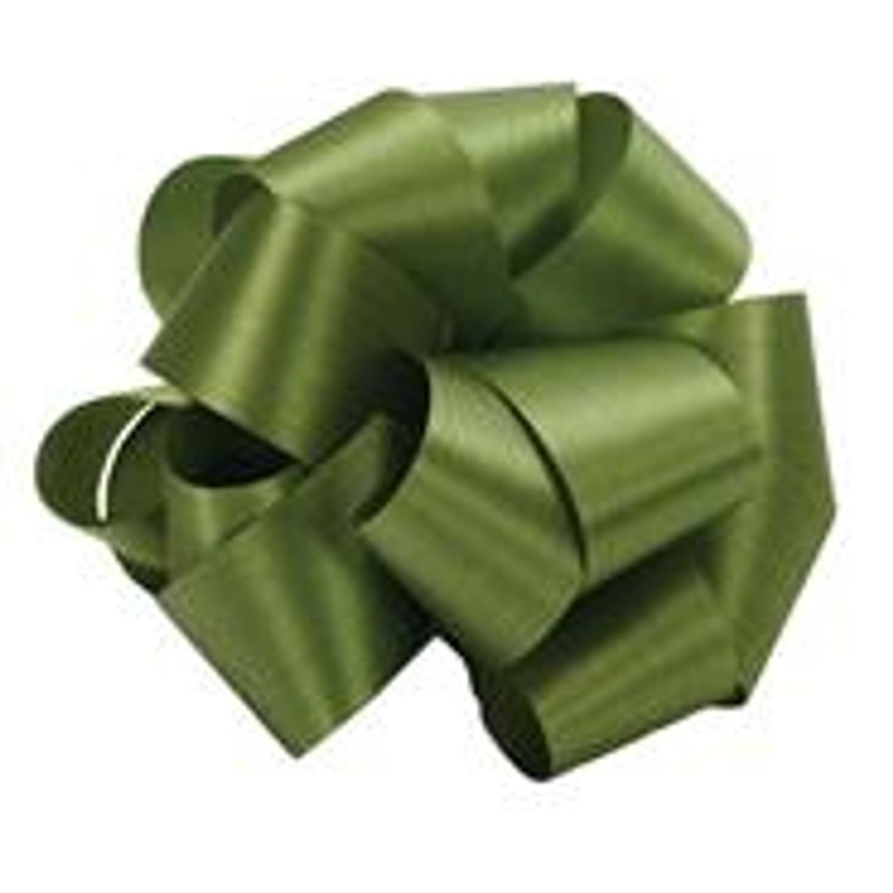 Moss Green Acetate Satin