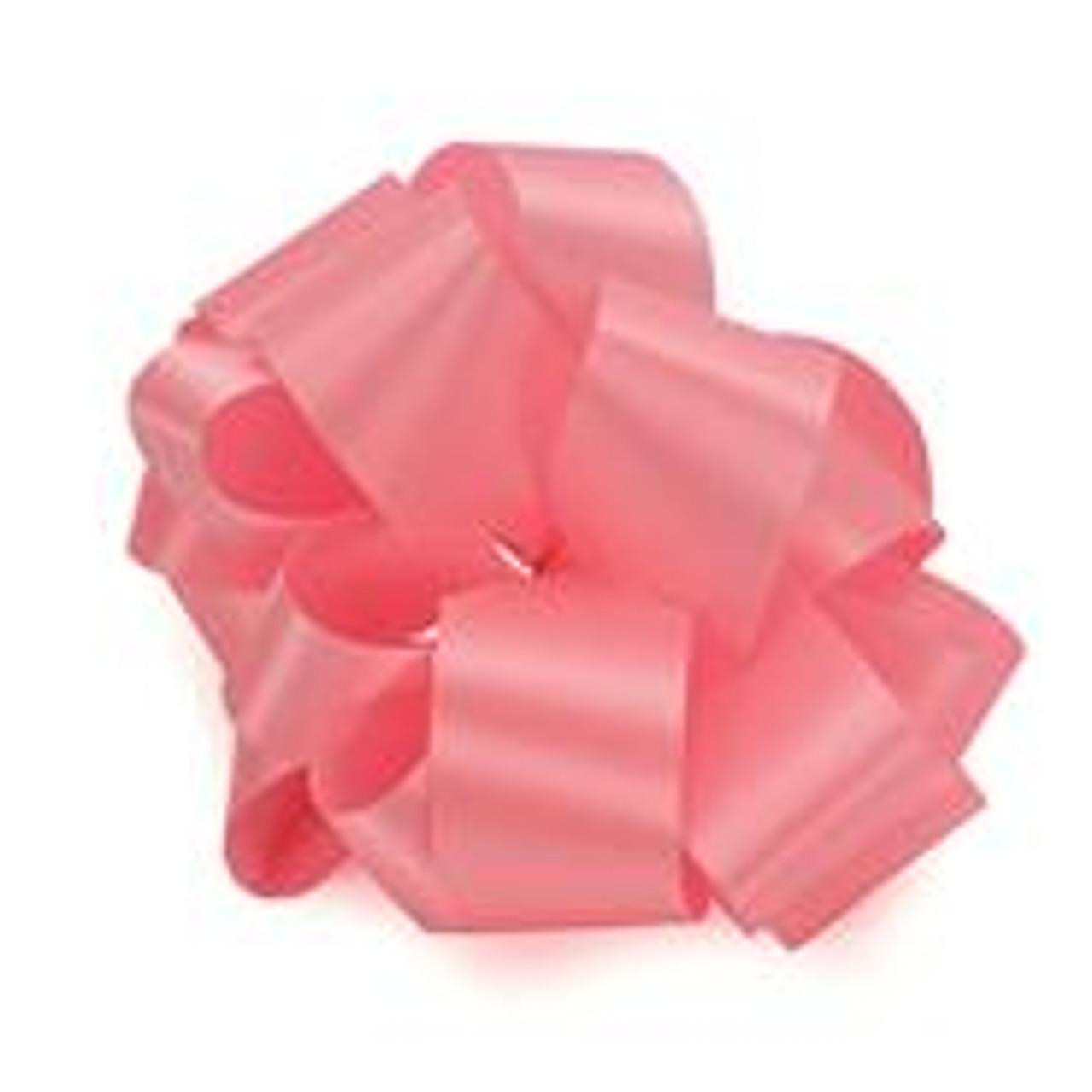 Shocking Pink Acetate Satin