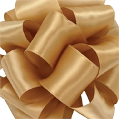 Dijon Wired Satin Ribbon