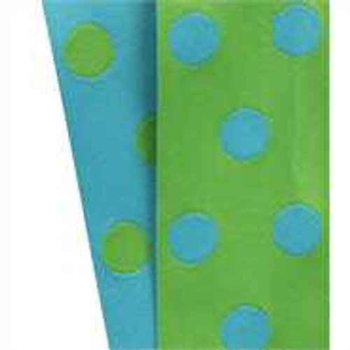 Cirq Green Turquoise Reverse Dots