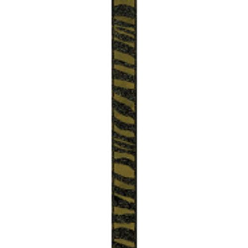 Gold/Black Zebra Crystal Ribbon