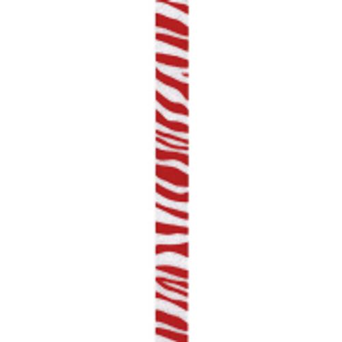 Red Zebra Crystal Ribbon