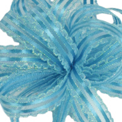 Kendra Aqua Opal Ribbon