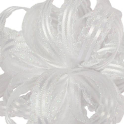 Kendra White Ribbon