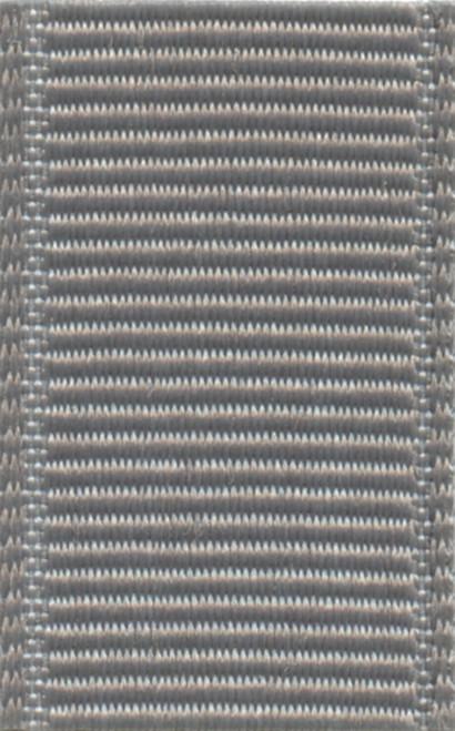 Grey Schiff Grosgrain Ribbon
