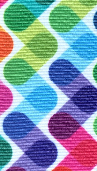 Multi Color Brite Printed Ribbon