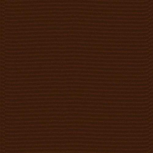 Chocolate Solid Grosgrain Ribbon
