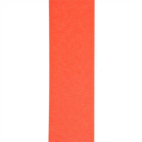Tangerine Coral Solid Grosgrain Ribbon