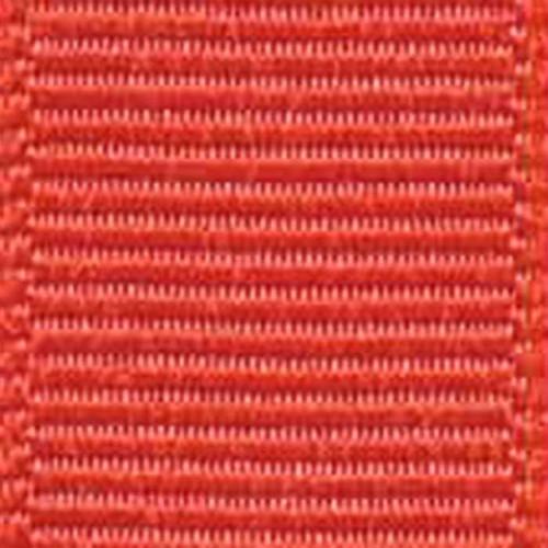 Poppy Solid Grosgrain Ribbon
