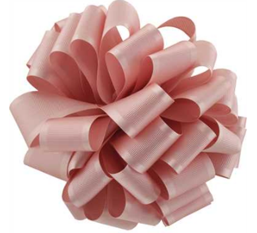 Pink Blush Satin Grosgrain