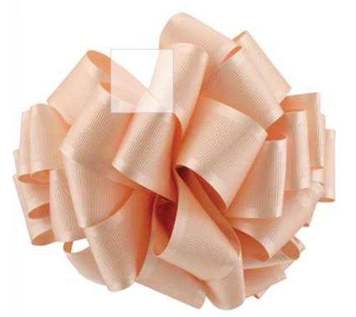 Pale Peach Satin Grosgrain