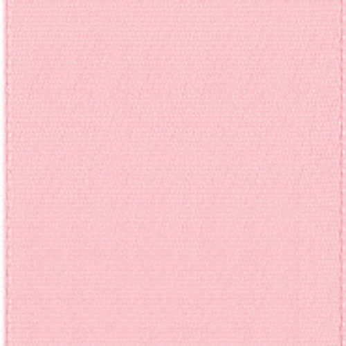 Light Pink Single Faced Satin Ribbon.