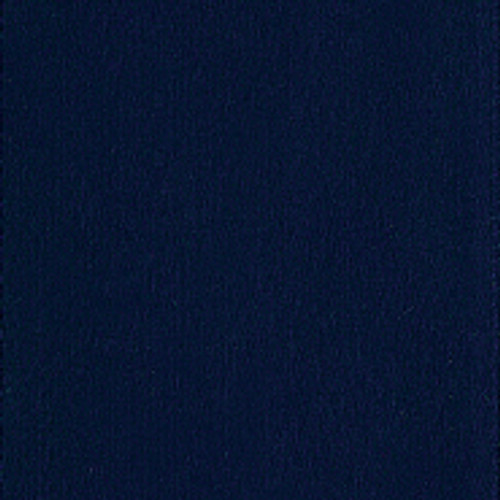 Navy Single Faced Satin Ribbon
