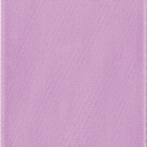 Light Orchid Single Faced Satin Ribbon