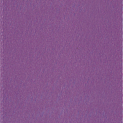 Amethyst Single Faced Satin Ribbon